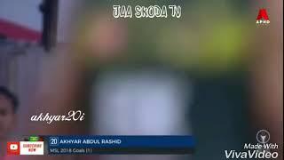 best player in malaysia akhyar rashid skills and goals 2018