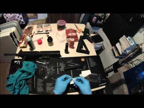 Colt M4 Cleaning and Lubricating