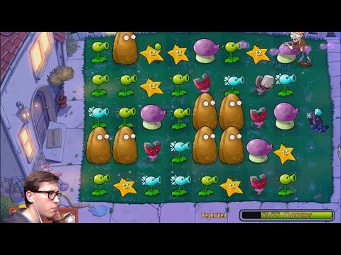 Column Like You See 'Em - Прохождение Plants vs Zombies на iPad, 13 часть