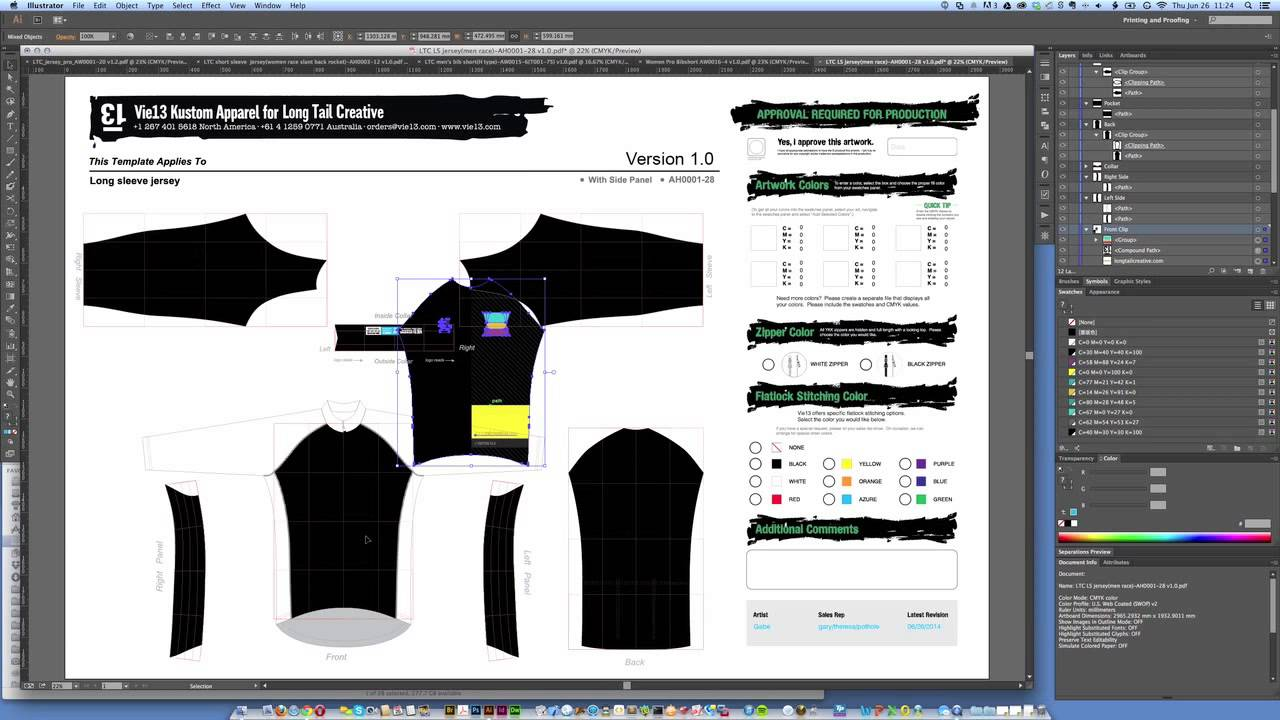 Bike Jersey Design Software