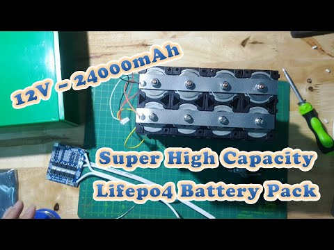Building High Capacity 32650 Lifepo4 Battery Pack For Emergency Or Daily Use - 12V - 24Ah #2