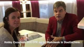 Reviews Hobby Excellent 560 CFe nieuw te koop Meerbeek Caravans & Campers Doetinchem