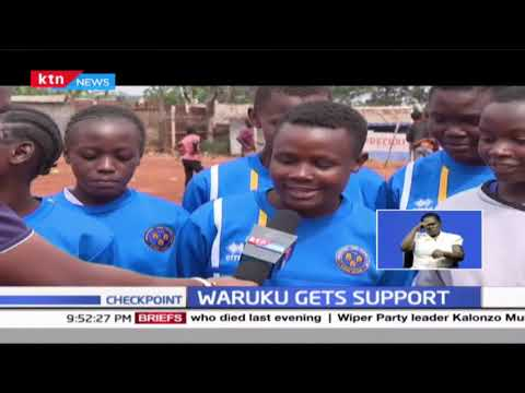 Waruku sportiff gets support after KTN News aired their story two months ago