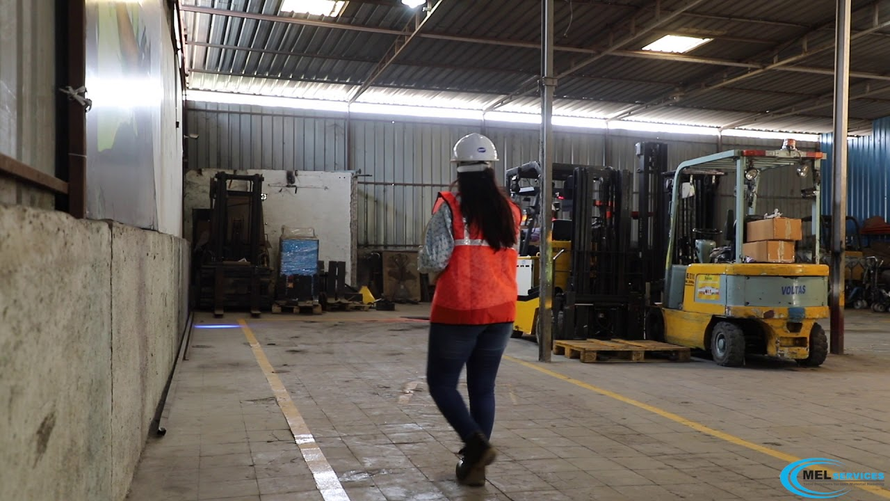 Blue Beam Lamp - Forklift - Mel Services