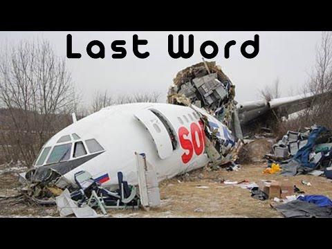 Pilot's Last Word - F*ckkkkkk - Polish Air Force Tu-154M