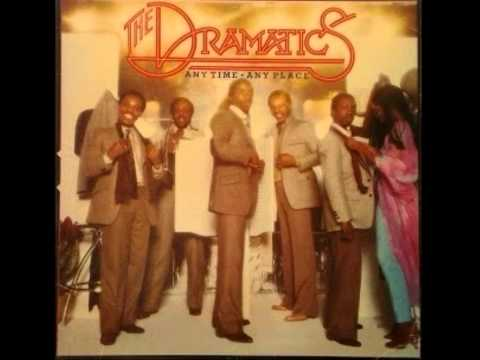 The Dramatics Any time Any place Album face 1