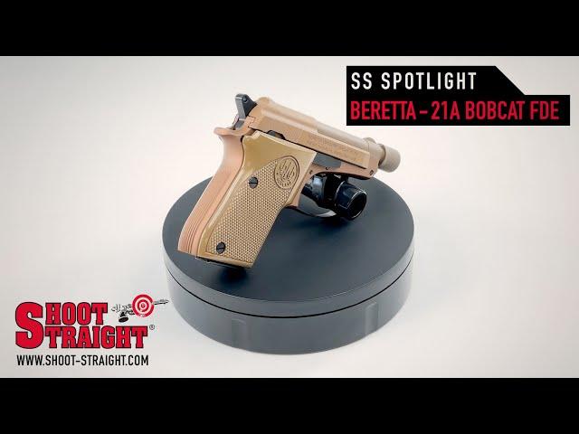 Beretta 21A Bobcat FDE - Shoot Straight Spotlight