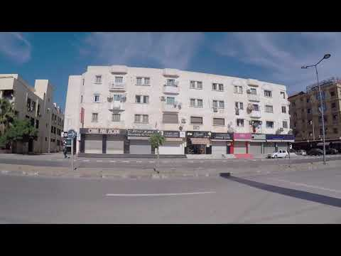 Algeria Road Algiers Airport City Center Gopro / Algérie Route Alger Aéroport Centre ville Gopro