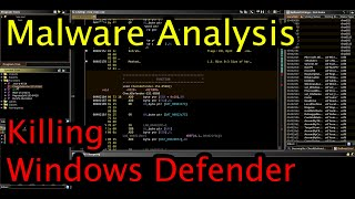 Live Malware Analysis | Watching A Windows Defender Disabler