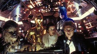 Star Wars VII Millennium Falcon Tease Reveals Dark Knight Connection