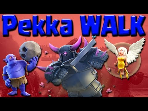 UPDATE PEKKA WALK | TH9 Attack Guide | 3 STAR Strategy Clash of Clans WAR
