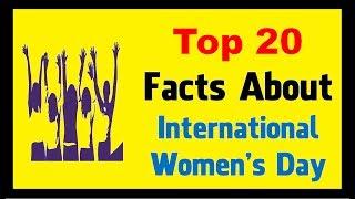International Women's Day 2018 - Facts