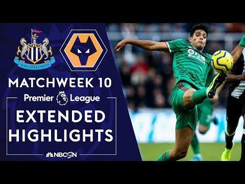 Newcastle v. Wolves | PREMIER LEAGUE HIGHLIGHTS | 10/27/19 | NBC Sports