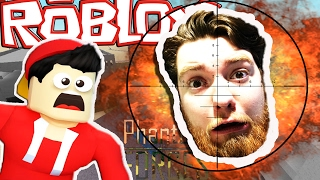 A SUPERHERO SNIPER?? w/ LITTLE ROPO !! Sharky Gaming | Roblox