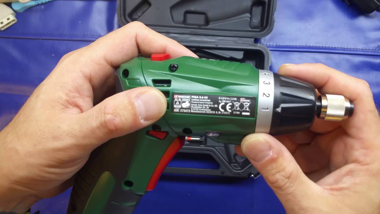 Lidl parkside li ion cordless screwdriver review youtube for Trapano avvitatore parkside 20v recensioni