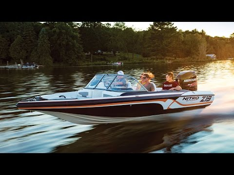 Best Fish And Ski Boats >> Nitro Boats Z19 Sport Fish And Ski Boat