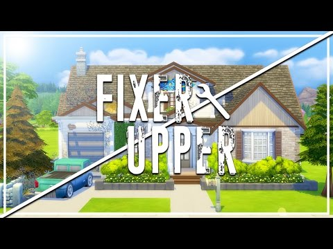 CRUMBLING COTTAGE // The Sims 4: Fixer Upper - Home Renovation