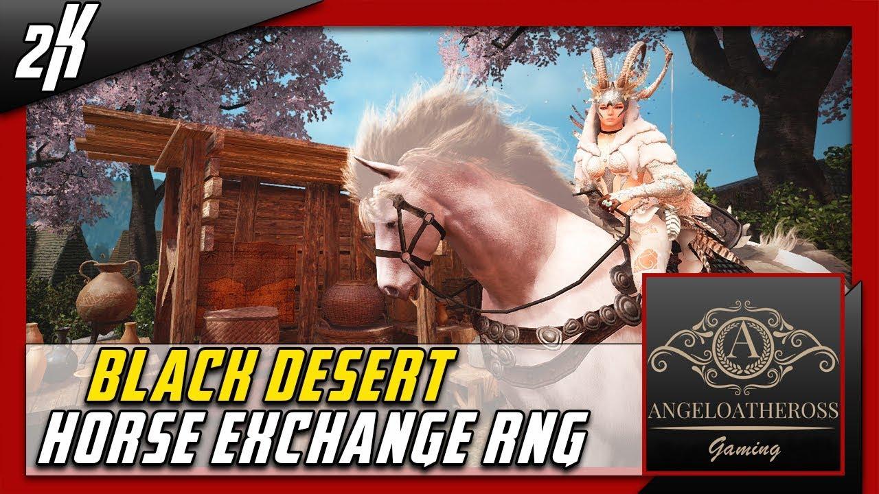 black desert horse exchange