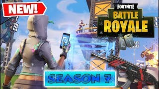 CHECKING OUT THE *NEW* SEASON 7 FEATURES & BATTLE PASS in Fortnite: Battle Royale!!