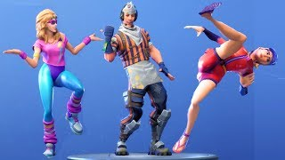 Fortnite All Dances Season 1-5 Updated to Hitchhiker