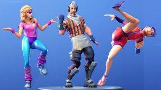 Baixar Fortnite All Dances Season 1 5 Updated to Hitchhiker