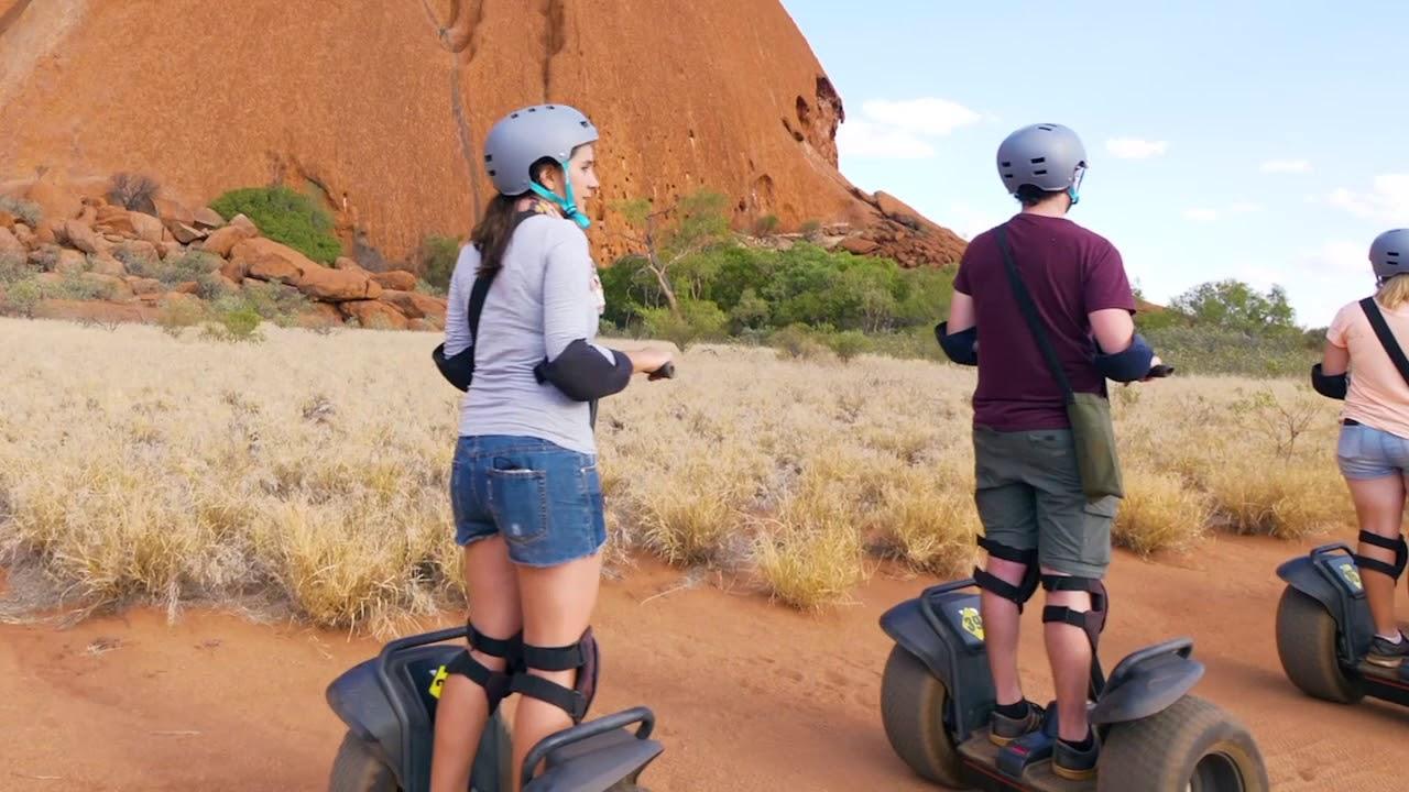 video Uluru By Segway + Return Transfer