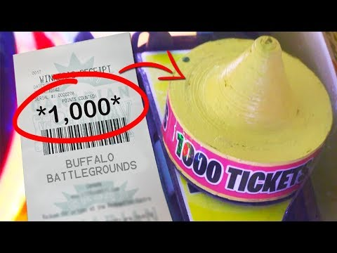 How To Win 1,000 Tickets At The Arcade!