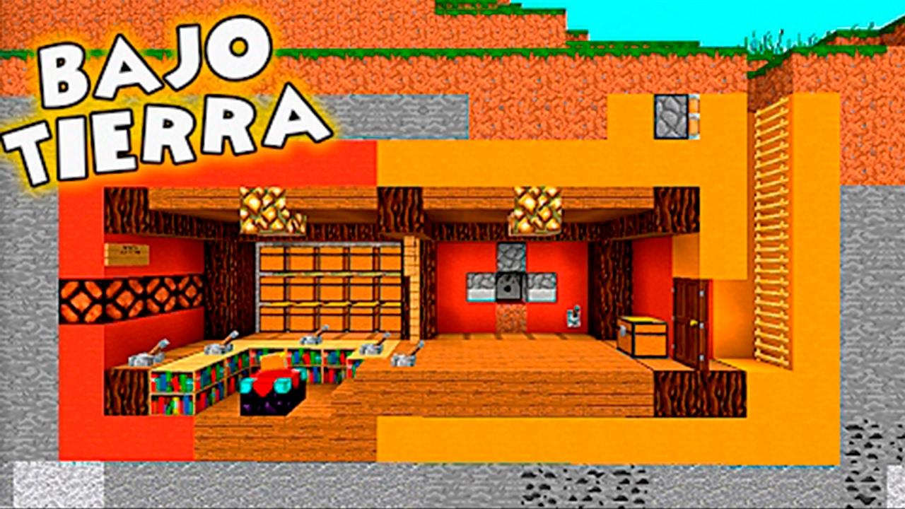 Casa de minecraft 100 indetectable bajo tierra youtube - Casas bajo tierra ...