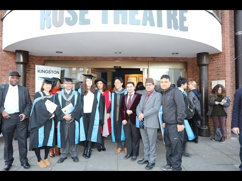 Kingston University - Graduation Ceremonies 2017