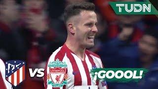 Gambar cover ¡Gol del Atleti! ¡Gol de Saúl! | Atl. Madrid 1 - 0 Liverpool | Champions League - 8vos Final | TUDN