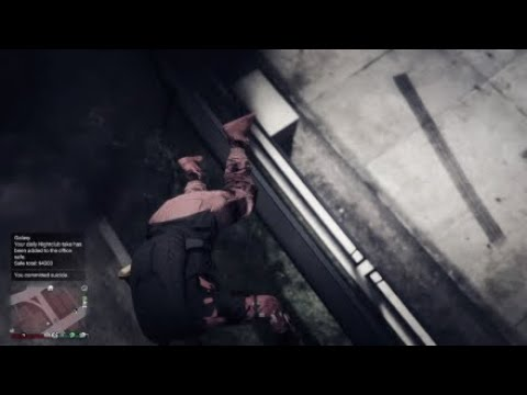 Two Nighshark Griefers Killing Me For A Bounty While I Was Doing Criminal Damage In Gta Online