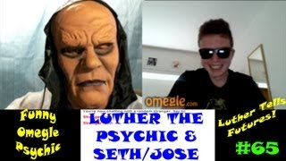 Funny Chatroulette Trolling on Omegle | Luther The Psychic Hits Omegle Chat Roulette!