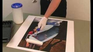 How to Coat a Fine Art Print with Glamour II Veneer