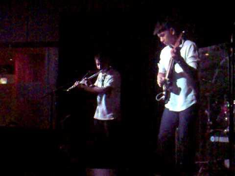 Abel Estanislao, Dix Lucero and the Mo-teef at the Boy Katindig Jazz Bar