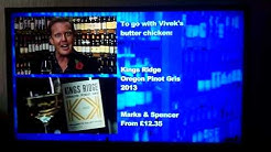 Kings Ridge Pinot Gris Oregon on Saturday Kitchen