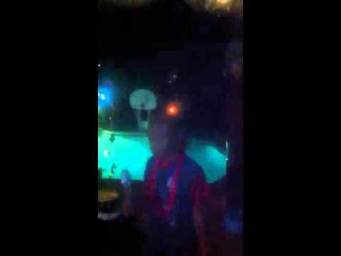 LB singin Karaoke