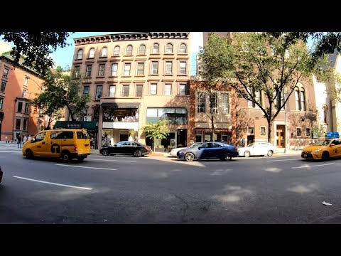 ⁴ᴷ⁶⁰ Walking NYC (Narrated) : Madison Avenue, Upper East Side From 59th Street To 86th Street