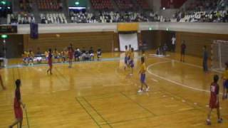 2009年8月29日(土)西日本学生ハンドボール選手権大会・男子