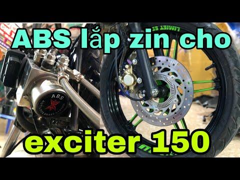 LLVL Lắp Phanh ABS Cho Exciter 150 Đầu Tiên Tại Việt Nam Chi Tiết NTN, Exciter155 Liệu Có ABS Không?