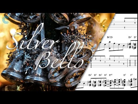 Alto Sax  - Silver Bells - Christmas Carol - Sheet Music, Chords, & Vocals