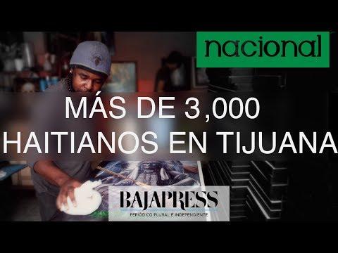 Con trabajos y mostrando su cultura, haitianos se insertan en Tijuana