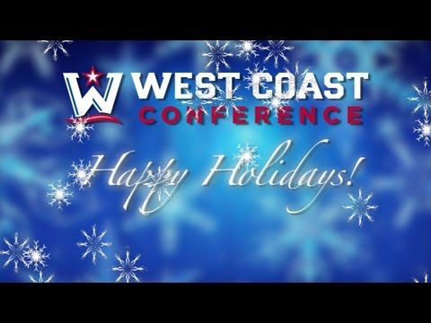 Happy Holidays from around the West Coast Conference!