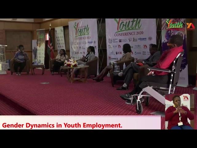 Gender Dynamics in Youth Employment       DAY 2         #YEC2020