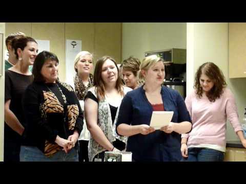 2011 ESM Karaoke Caroling -- Team SNHU
