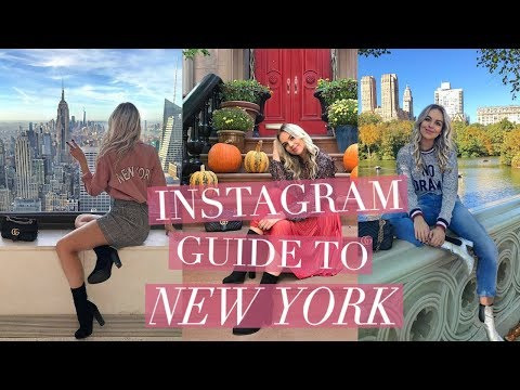 THE INSTAGRAM GUIDE TO NEW YORK CITY | New York Travel Vlog 2017