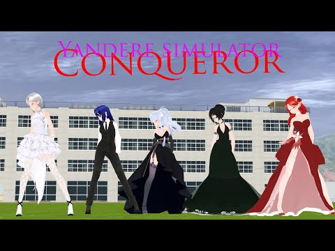 Yandere Simulator [ MMD ] Conquer | Student Council members