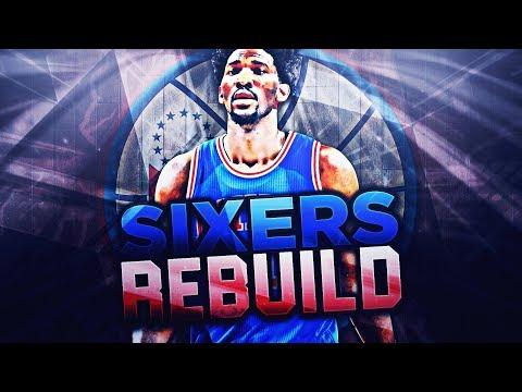 REBUILDING THE PHILADELPHIA 76ERS! NBA 2K18 MY LEAGUE