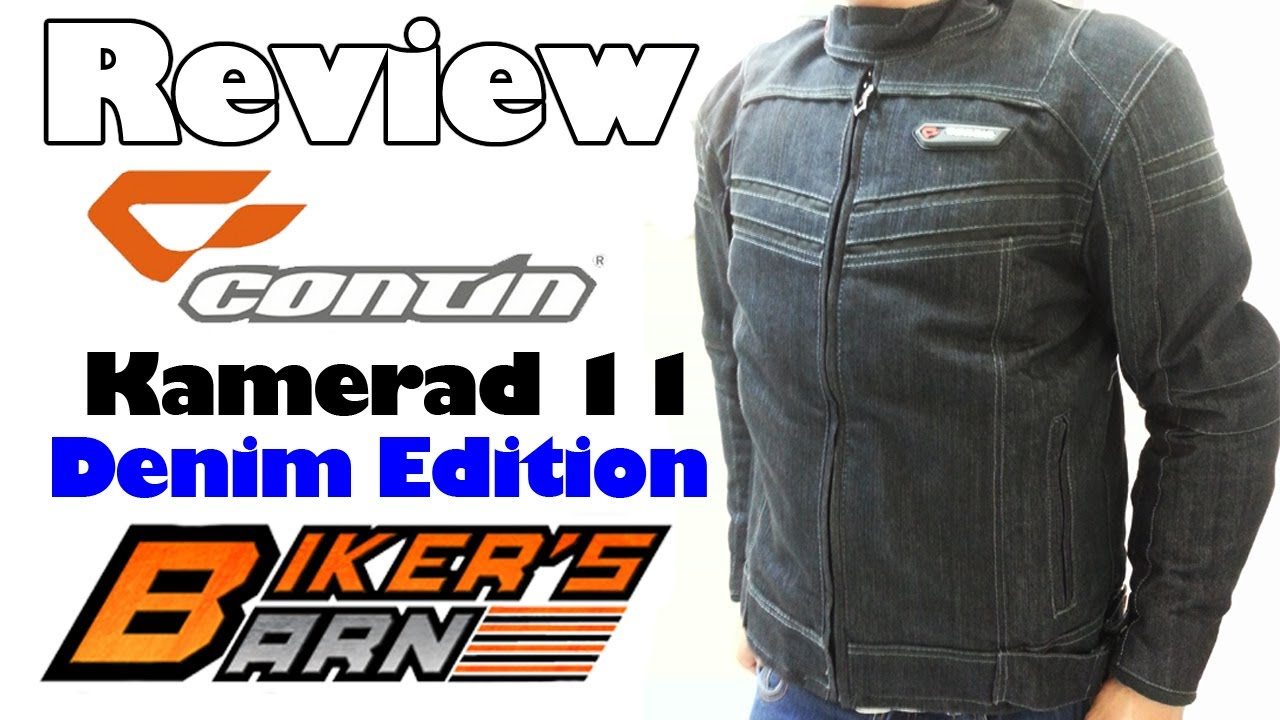 Contin Kamerad 11 Denim Edition Review at BikersBarnid.com - YouTube cf3b948bb5