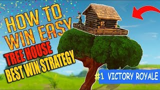 Fortnite Battle Royale How To Get Easy Wins | Best Win Strategy | My First Solo Fortnite Win
