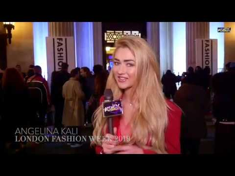 Luxury Brands With Angelina Kali Lfw Interview With Rocky Star Youtube
